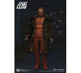 Fight Club Action Figure 1/6 Tyler Durden (Brad Pitt) Fur Coat Version 30 cm