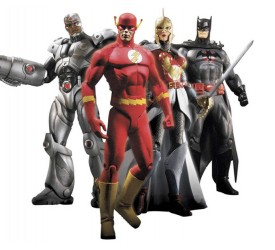 Flashpoint Series 1 Action Figure Set 17 cm