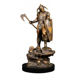 Frank Frazetta Statue 1/7 Death Dealer Faux Bronze 35 cm