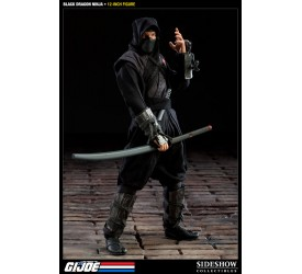 G.I. Joe Action Figure Black Dragon Ninja 30 cm