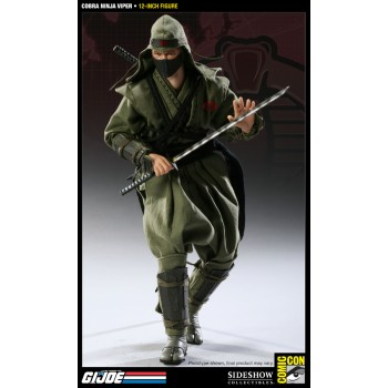 G.I. Joe Action Figure Cobra Ninja Viper Comic Con 2011 Exclusive Non-Attendee Version 30 cm