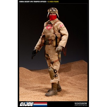G.I. Joe Action Figure Desert Ops Trooper Officer 30 cm