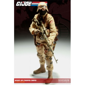 G.I. Joe Action Figure Desert Ops Trooper Sniper 30 cm