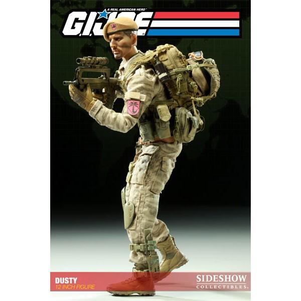 G I Joe Action Figure Dusty