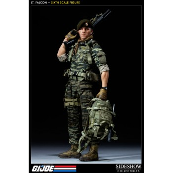 G.I. Joe Action Figure 1/6 Green Beret Lt. Falcon SDCC 2012 Sideshow Exclusive 30 cm