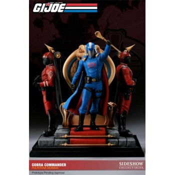G.I. Joe Diorama Cobra Commander 30 cm
