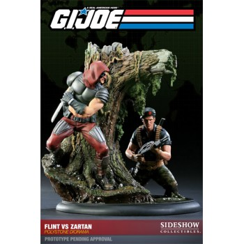 G.I. Joe Diorama Flint vs. Zartan