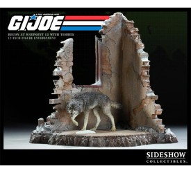 G.I. Joe Diorama Recon at Waypoint 12 with Timber 36 cm