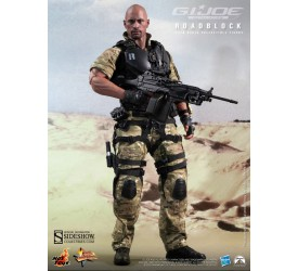 G.I. Joe Retaliation Movie Masterpiece Action Figure 1/6 Roadblock 30 cm