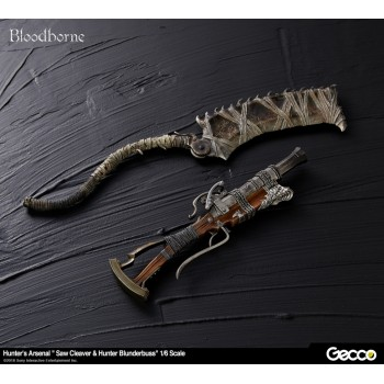 Bloodborne Hunters Arsenal Saw Cleaver and Blunderbuss