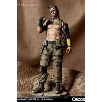Metal Gear Solid V The Phantom Pain Statue 1/6 Venom Snake Play Demo Version 32 cm
