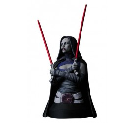 Star Wars The Clone Wars Bust 1/6 Asajj Ventress 15 cm