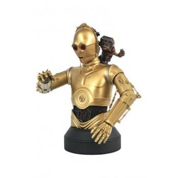 Star Wars Episode IX Bust 1/6 C-3PO & Babu Frik 15 cm