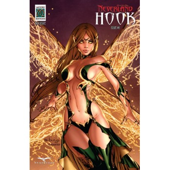 GFT Presents Neverland Hook Vol 1 Moore Editions Exclusive Variant - Limited Edition of 250