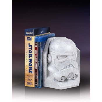 Star Wars Stormtrooper Stoneworks Faux Marble Bookend