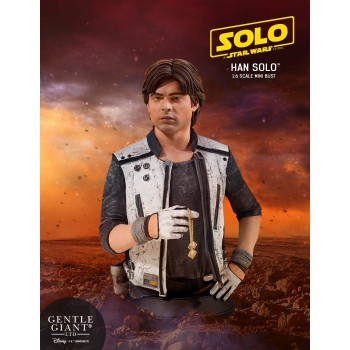 Star Wars SOLO Movie Han Solo Mini Bust