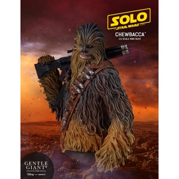 Star Wars SOLO Movie Chewbacca Mini Bust
