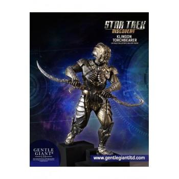 Star Trek Discovery Collectors Gallery Statue 1/8 Klingon Torchbearer 23 cm