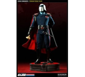 GI Joe Cobra Commander 1:4 Premium Format Figure Sideshow Exclusive