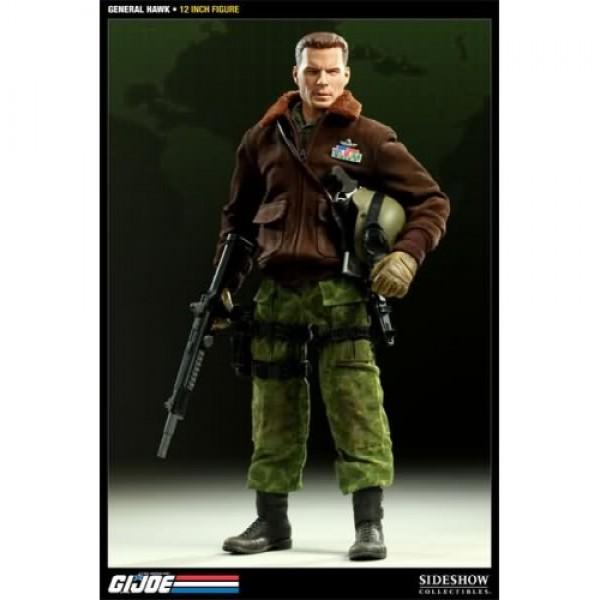 Gi Joe General Hawk 12 Inches Figure