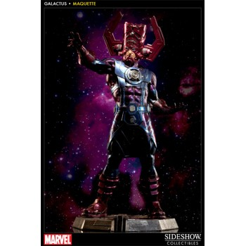 Galactus Maquette 83cm (pin on right feet is short)