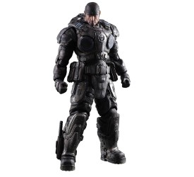 Gear of War Play Arts Kai Action Figure Marcus Fenix 27 cm
