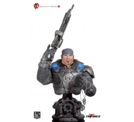 Gears of War 2 Marcus Fenix Epic Scale Bust