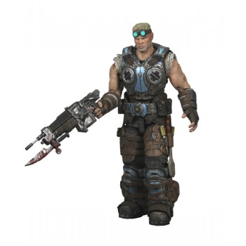 Gears of War 3 Series 1 Action Figure Baird 18cm