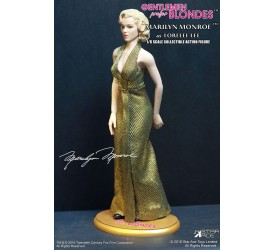 Gentlemen Prefer Blondes My Favourite Legend Action Figure 1/6 Marilyn Monroe Gold Dress Version 29 cm