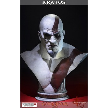 God of War Ascension Bust 1/1 Kratos 71 cm