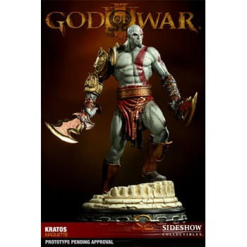 God of War Statue Kratos