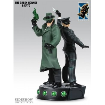 Green Hornet and Kato Polystone Statue