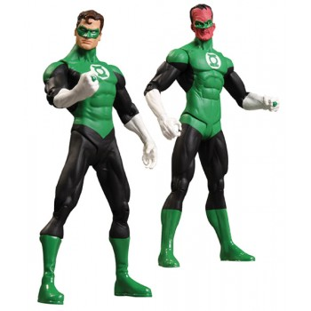 Green Lantern Action Figure 2-Pack Rebirth Collectors Set 17 cm