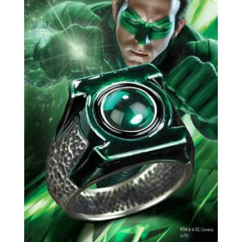 Green Lantern Movie Hal Jordans Ring (Sterling Silver)