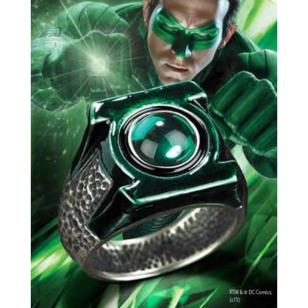green lantern hal jordans ring sterling silver