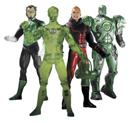 Green Lantern Series 4 Action Figure Set 17 cm