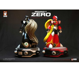 Megaman X Ultimate Zero 1/4 Scale Statue Set