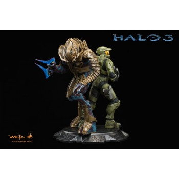 Halo 3 Statue 1/9 Master Chief and Arbiter 26 cm