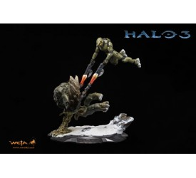 Halo 3 Statue 1/10 Master Chief vs The Flood 40 cm