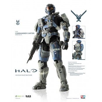Halo Action Figure 1/6 Spartan-III A259 Commander Carter 34 cm