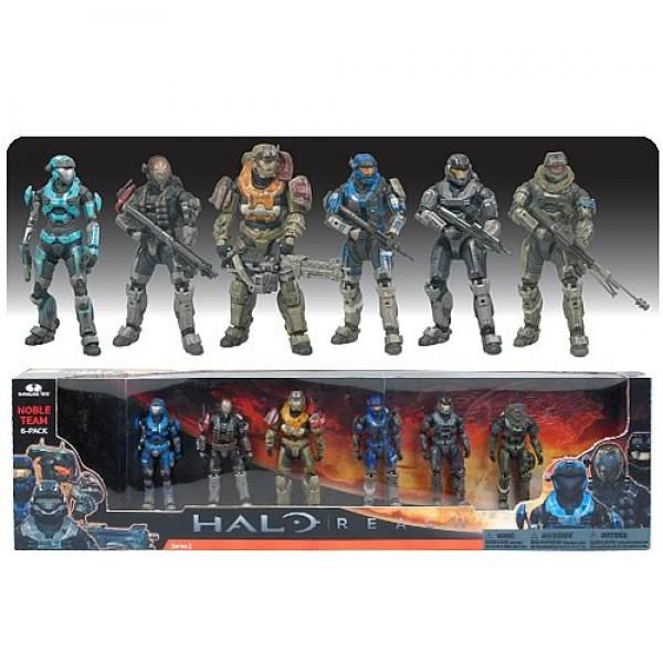 Halo Reach Action Figure Deluxe Box Set Noble Team 17 cm