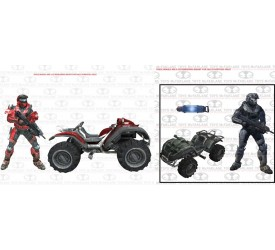 Halo Reach Mongoose Vehicle Box Set Asst