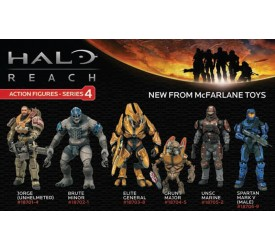 Halo Reach Series 4 6 inches Jorge (unhelmeted) AF
