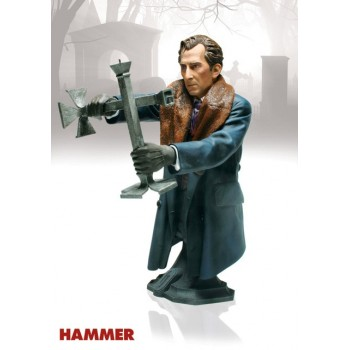 Hammer Horror Masterpiece Collection Bust Van Helsing (Peter Cushing) 20 cm