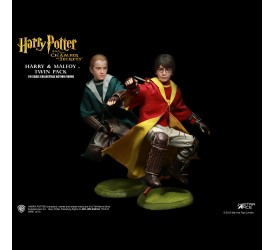 Harry Potter My Favourite Movie Action Figure 2-Pack Potter and Malfoy Quidditch Version 26 cm