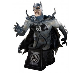 Heroes of the DC Universe Blackest Night Bust Black Lantern Batman 15 cm