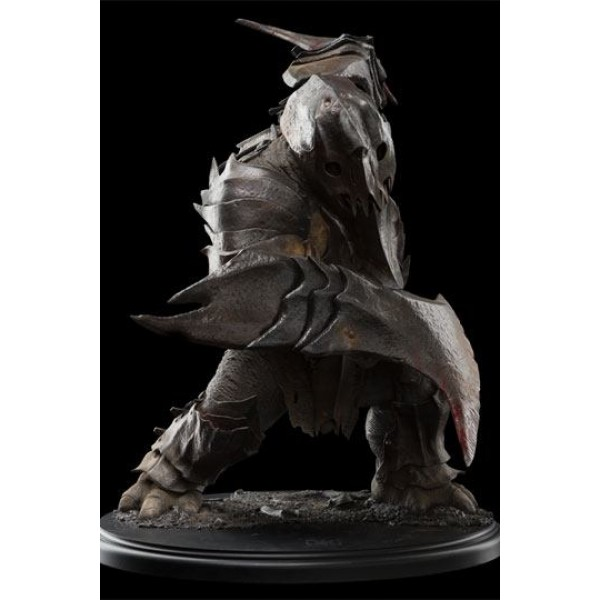 Hobbit The Battle Of The Five Armies Statue 1 6 War Troll 52 Cm