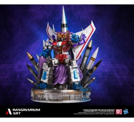 Starscream Coronation on Throne Statue 80 cm