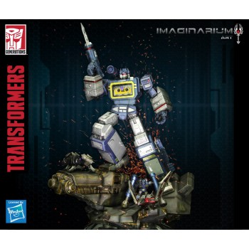 Transformers G1 Soundwave Pose Change Statue