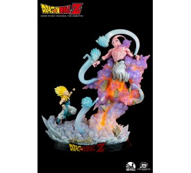 Dragon Ball Z: Gotenks vs. Majin Buu 1/6 Scale Statue